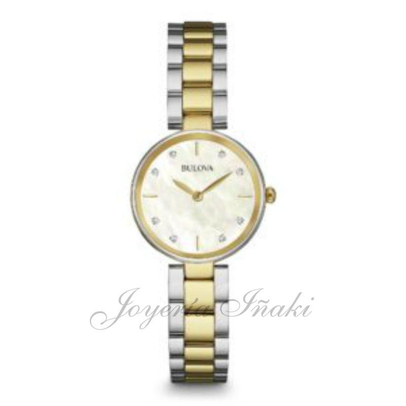 d5d11d775c99 ... Reloj Bulova Señora Diamantes 98S146. ¡Oferta! Venta online - el mejor  precio