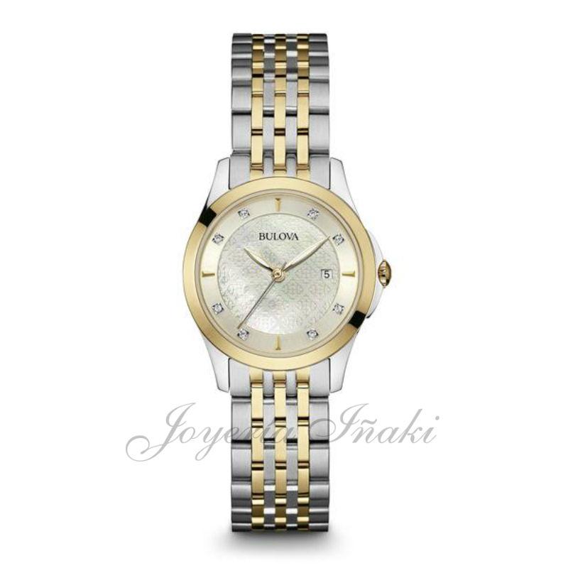e92d6472137b ... Reloj Bulova Señora Diamantes 98S148. ¡Oferta! Venta online - el mejor  precio
