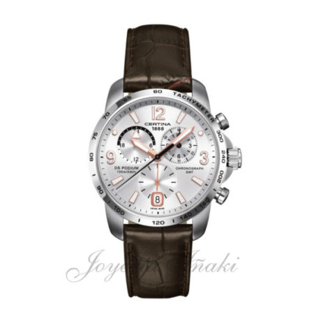 Reloj Certina Caballero ds podium chronograph gmt C001.639.16.037.01