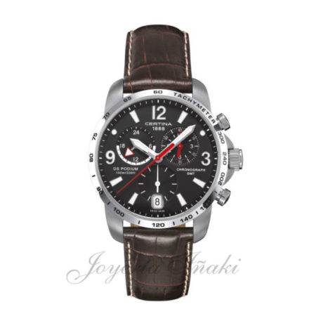 Reloj Certina Caballero ds podium chronograph gmt C001.639.16.057.00