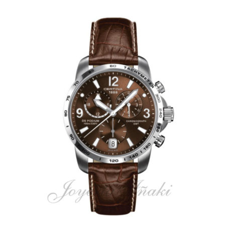 Reloj Certina Caballero ds podium chronograph gmt C001.639.16.297.00