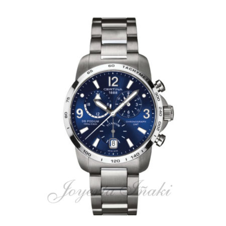 Reloj Certina Caballero ds podium chronograph gmt C001.639.44.047.00