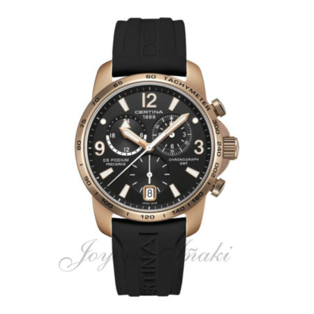Reloj Certina Caballero ds podium chronograph gmt aluminium C001,639.97.057.04