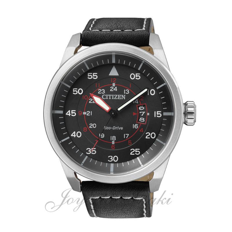 b5ae94bf6748a Reloj de Caballero Citizen Eco Drive Aviator AW1360-04E
