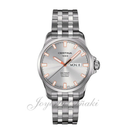 reloj Certina Caballero coleccion aqua Ds AFirst Day DatenAutomatic C014.407.11.031.01