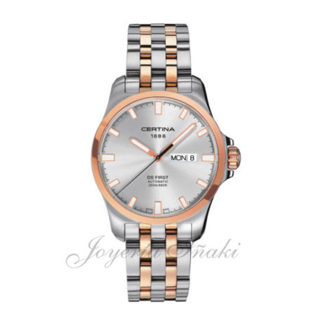 reloj Certina Caballero coleccion aqua Ds AFirst Day DatenAutomatic C014.407.22.031.00
