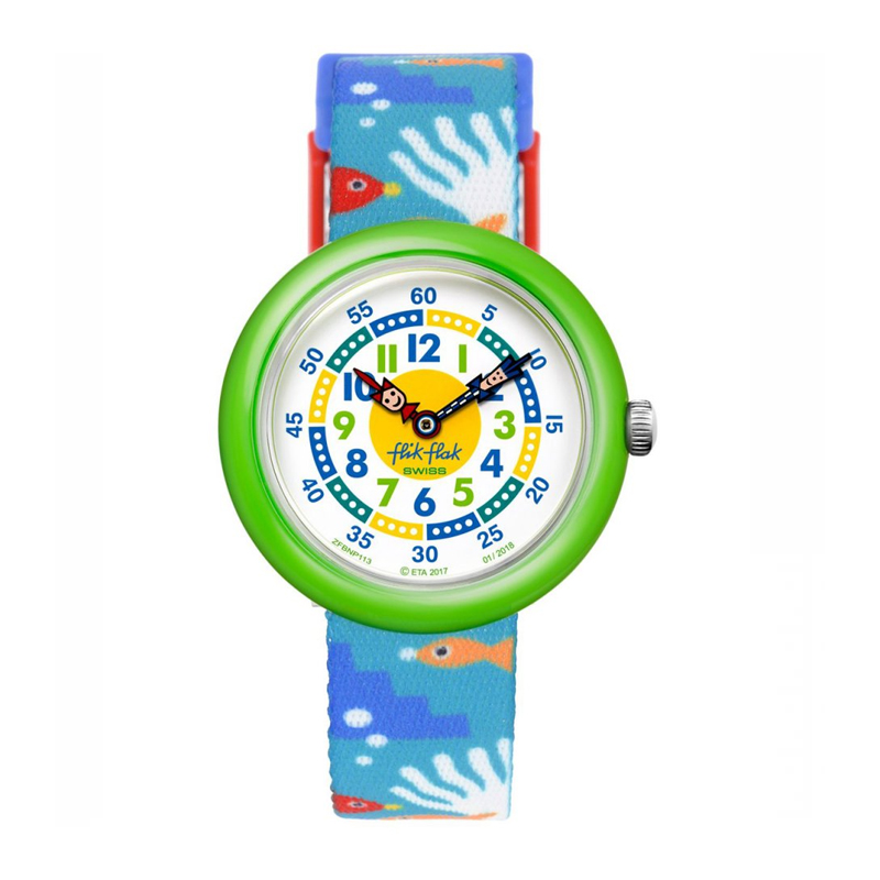 01cb16dba6fc RELOJ PARA NIÑOS FLIK FLAK AMAZOONIA FBNP112 - Relojería y Joyería Iñaki