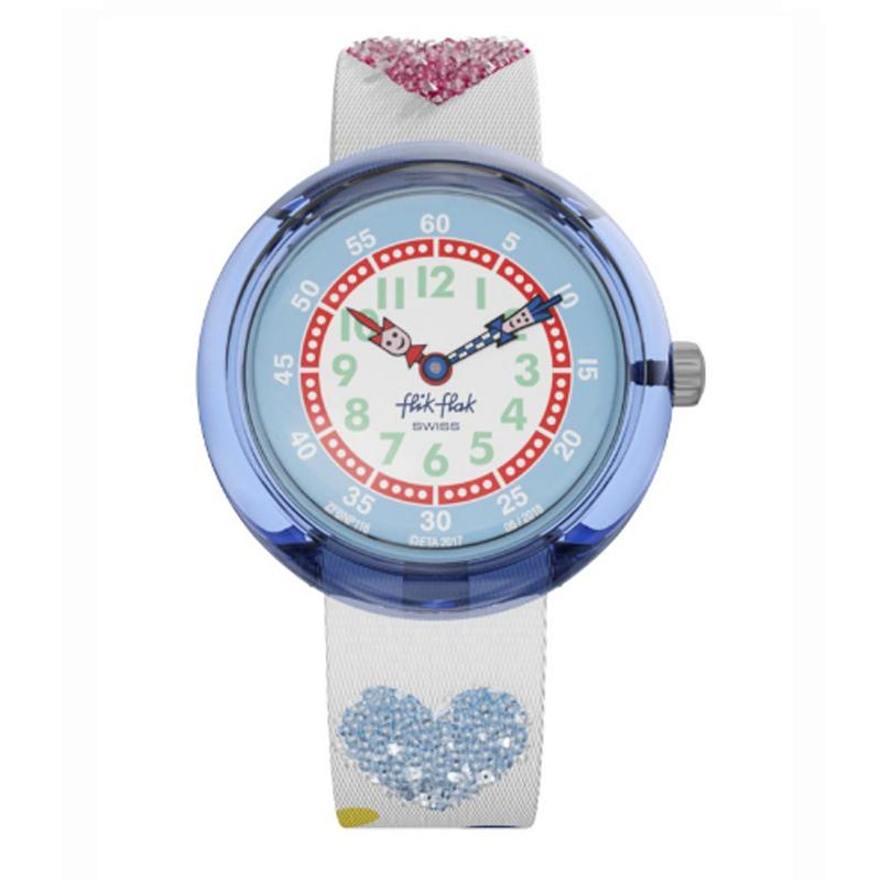 Flak Love Heart Fbnp116 Para Niños Flik My Reloj yg7Yfb6