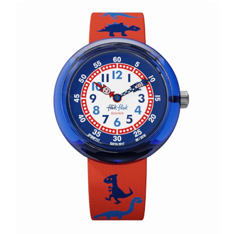 073a41c57d37 RELOJ PARA NIÑOS FLIK FLAK DINOSAURITOS FBNP117 - Relojería y ...