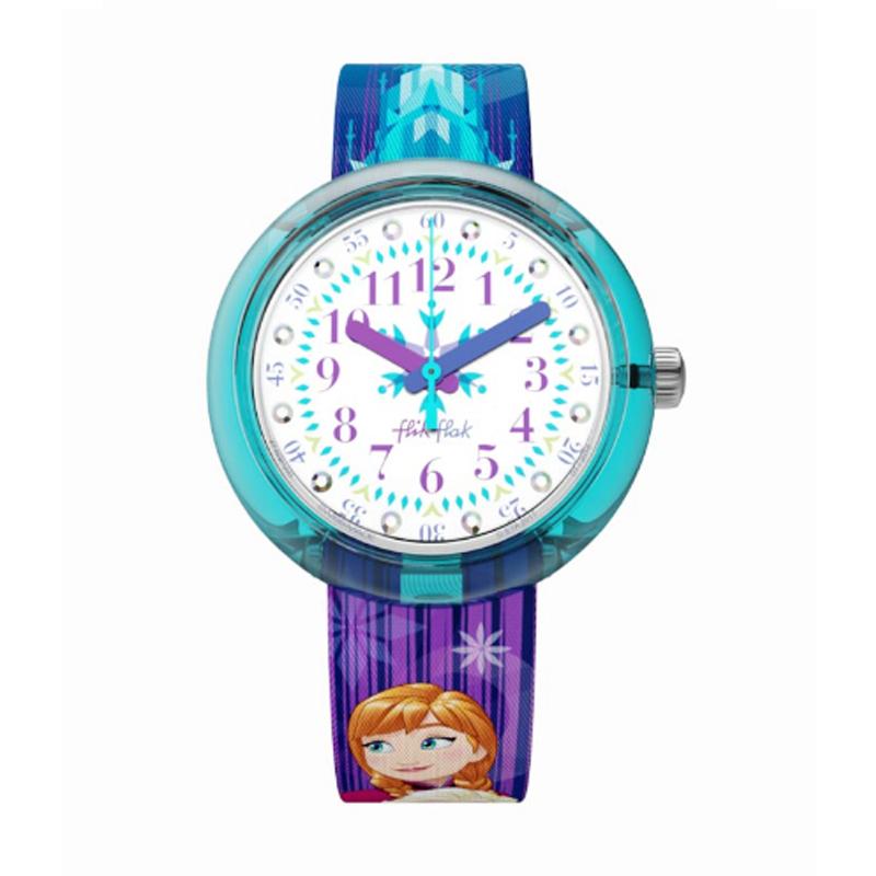 Reloj Para Ninos Flik Flak Disney Frozen Flnp027