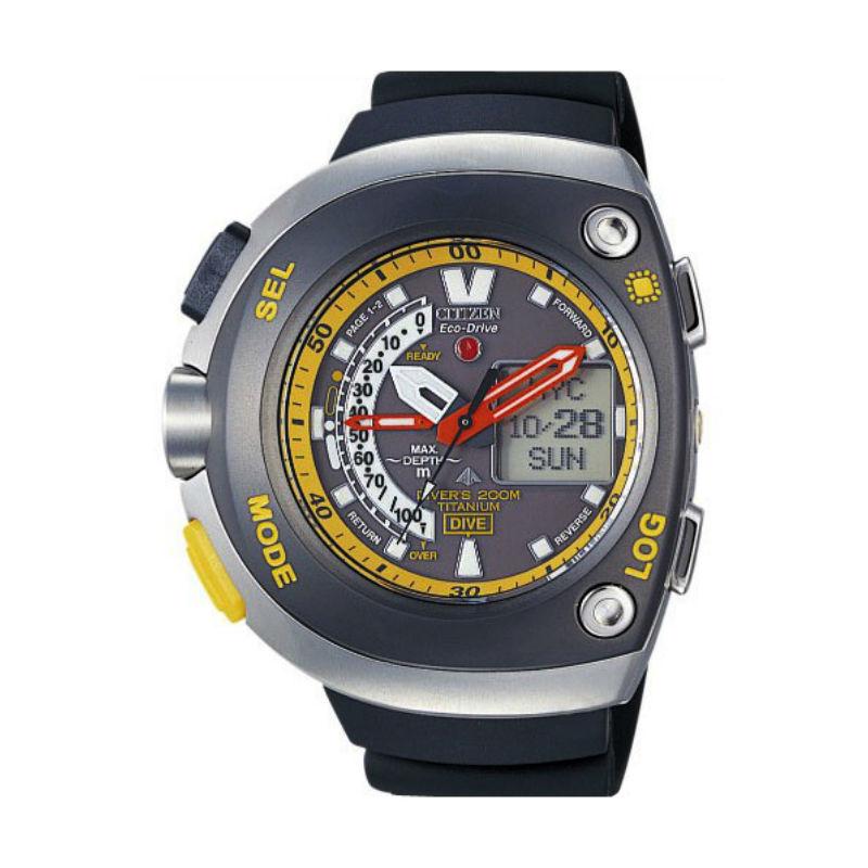 fcdbd08cda47 Reloj Citizen Titanium Aqualand Diver s Depth JV0055-00E.